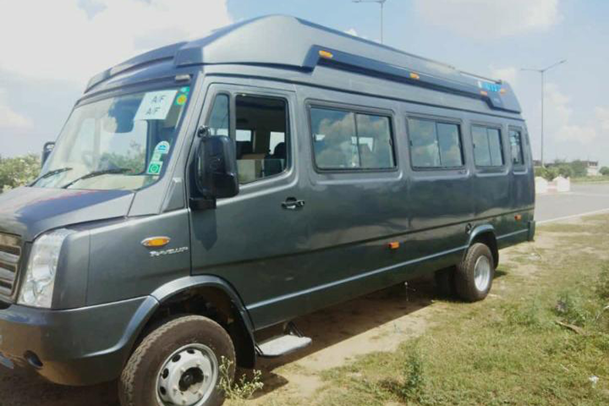 Outstation tempo Traveller -17 Seater Tempo Traveller OVERVIEW